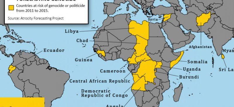carte de Génocide