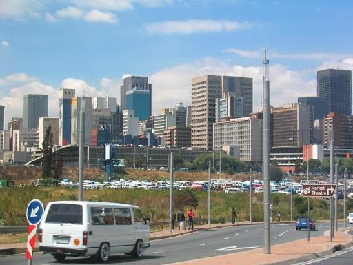 Afrique du Sud centre ville